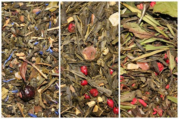 Grøn & Hvide aromatiske teer