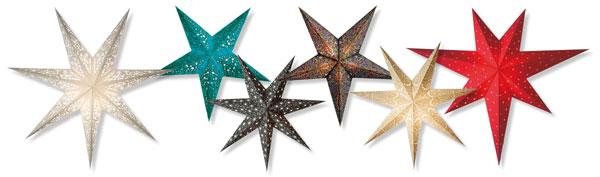 Stjerner med lys