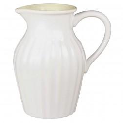 Mynte kande. 1,4 liter.Hvid