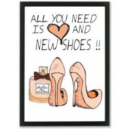 All you need is love and new shoes