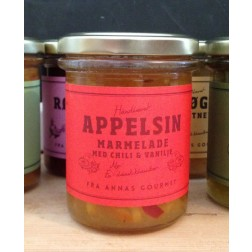 Anna´s Gourment. Appelsin marmelade m.chili