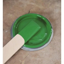 Vintage Paint. Bright Green