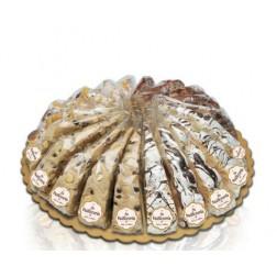 Italiensk blød nougat lagkage med cacao/chokolade. 165 g.