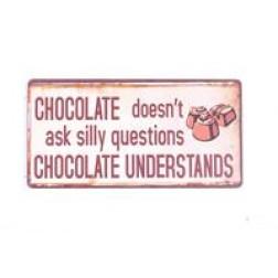 Magnet med tekst. Chocolate....