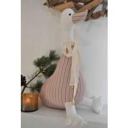 Julegås. 38 cm