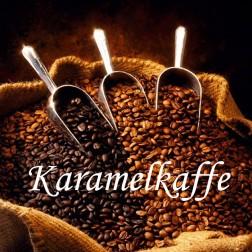 Dessertkaffe. Karamel
