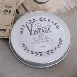 Vintage voks. Lille Hvid 50 ml
