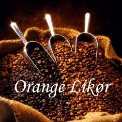 Dessertkaffe. Orange Likør