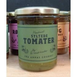 Anna´s Gourment. Syltede Grønne tomater