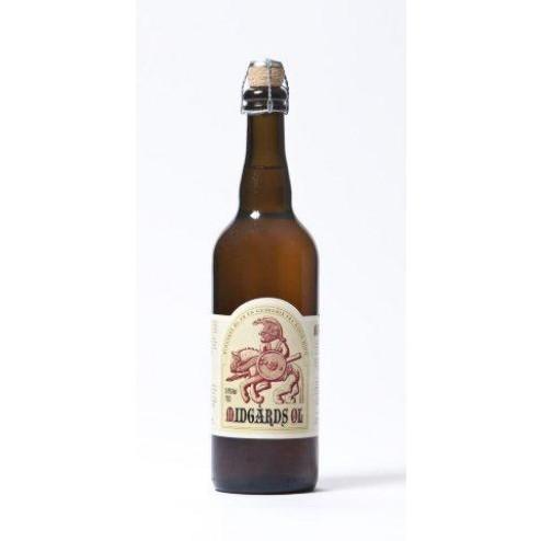 Mjød Øl. Midgårds øl 9,4 %