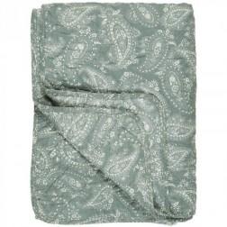 Quilt Støvgrøn Paisley