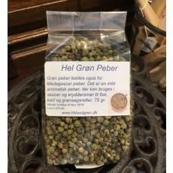 Hele Grøn Peber 75 g