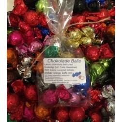 Chokolade - Chokolade Balls 10 stk.