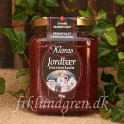 Klara Marmelade. Jordbær/Rabarber