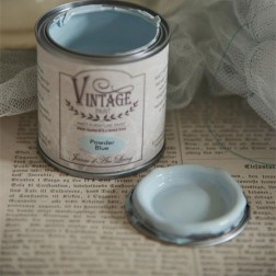 Vintage Paint. Blue Power