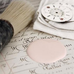 Vintage Paint. Faded rose
