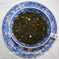 Økologisk. Grøn te med Lemon Ingefær