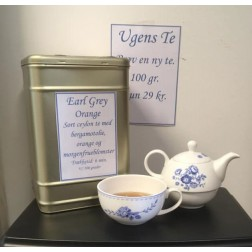 """Ugens Te + """"tea for one"""" kande"""